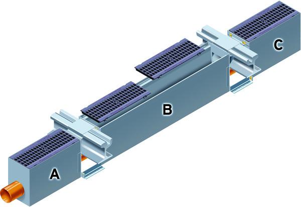 FASERFIX®TRAFFIC TRAM - odwodnienie torowisk