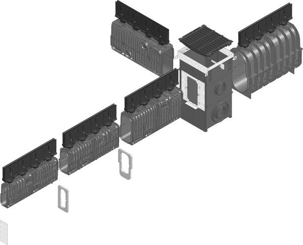 RECYFIX®HICAP® G - kanały retencyjno - odwodnieniowe